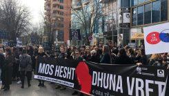 March 8, 2019 - Albanian girls and women protest #TheMourningProtest #TheVoiceProtest   8 Mars 2019 - Vajzat dhe gratë shqiptare protestojnë #ProtestaEzisë #ProtestaEzërit