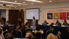 May 24, 2019 - Launching of the new national survey on Violence against Women and Girls: Albania now has a more comprehensive view on GBV